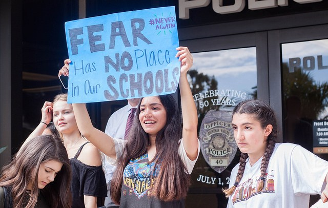 FVHS students march in solidarity for National Walkout Day Featured Photo