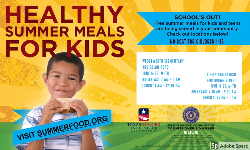 Healthy Summer Meals for Kids Featured Photo
