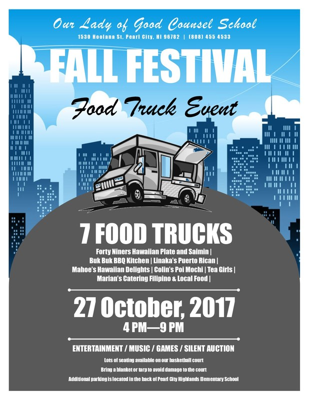 Fall Festival Food Truck Fundraiser Featured Photo