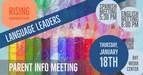 language leaders meeting