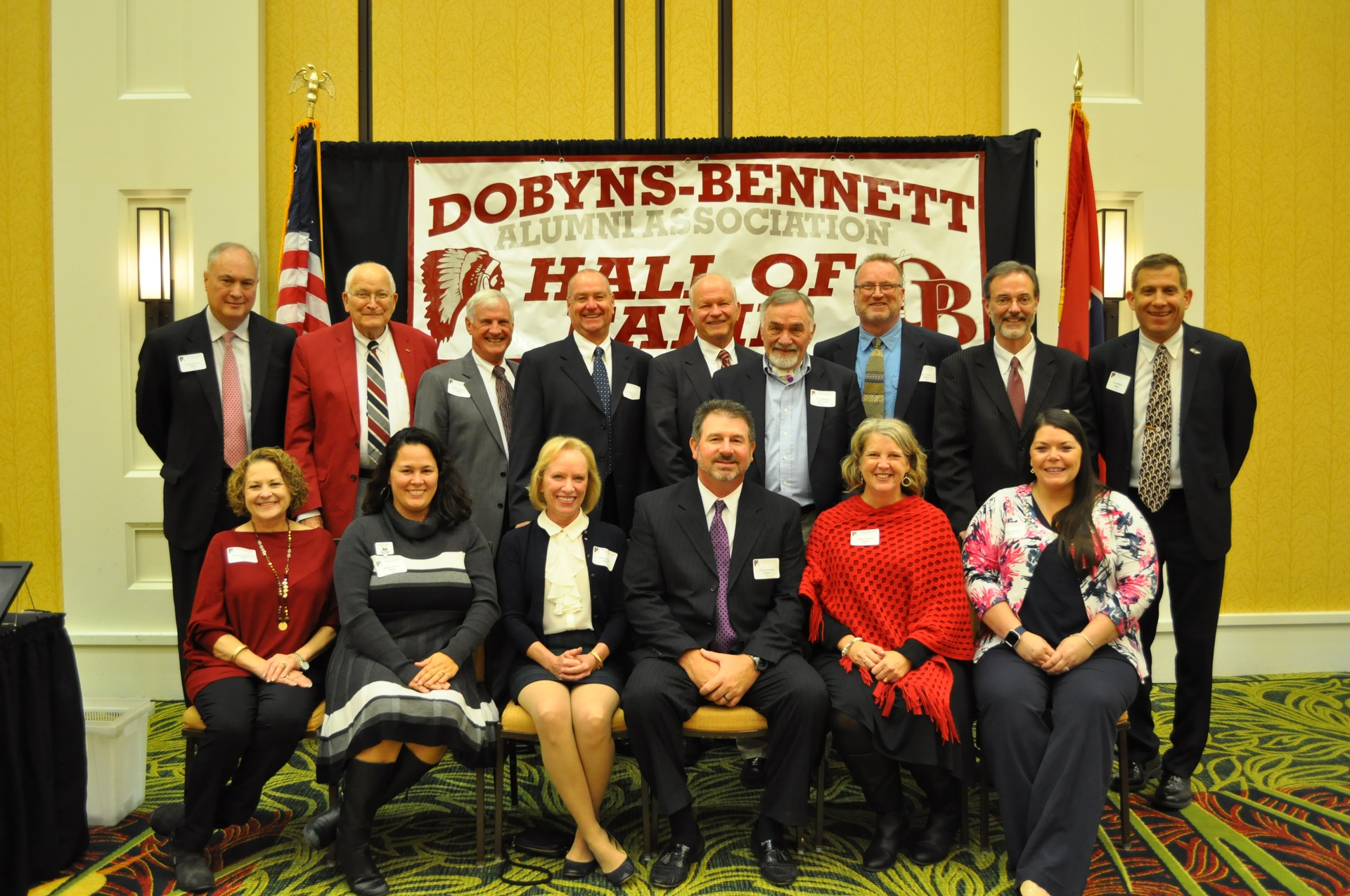 9th Annual Dobyns-Bennett High School Alumni Hall of Fame Induction Ceremony: October 26, 2017