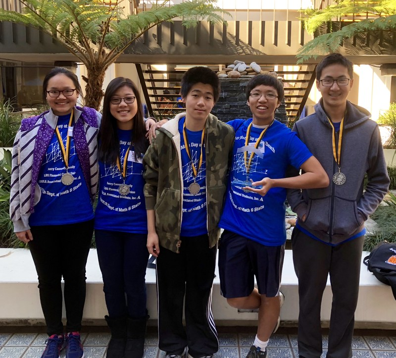 SPHS Math Team 2018