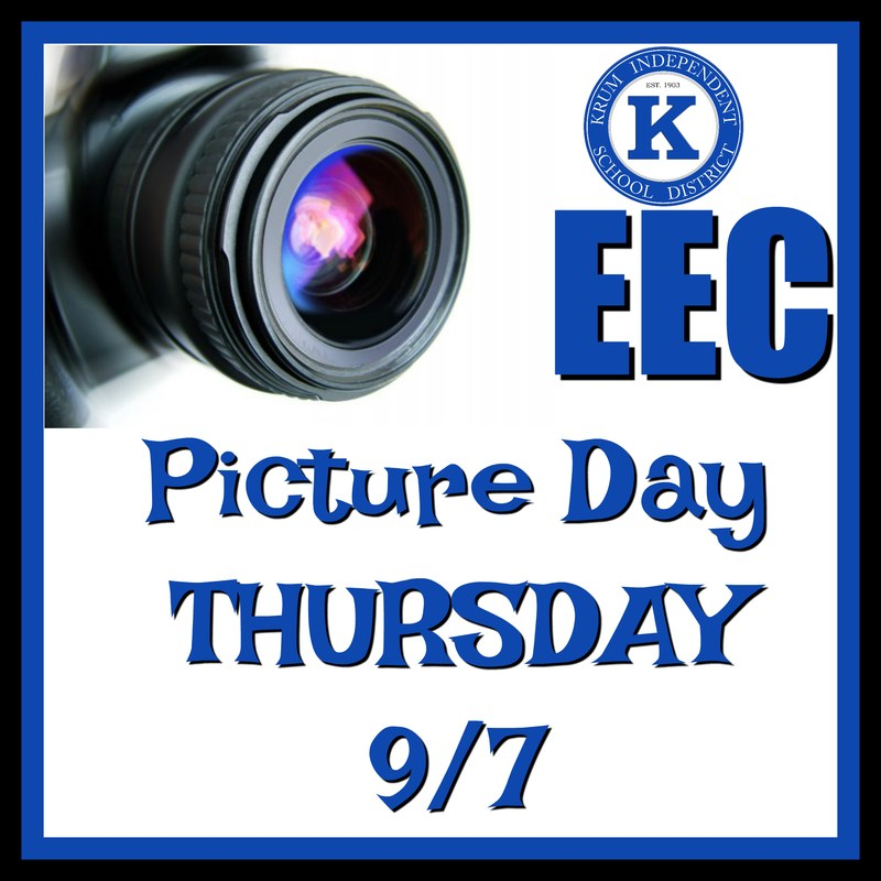 EEC Picture Day Sept. 7th Thumbnail Image