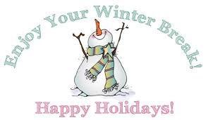 snowman enjoy your winter recess