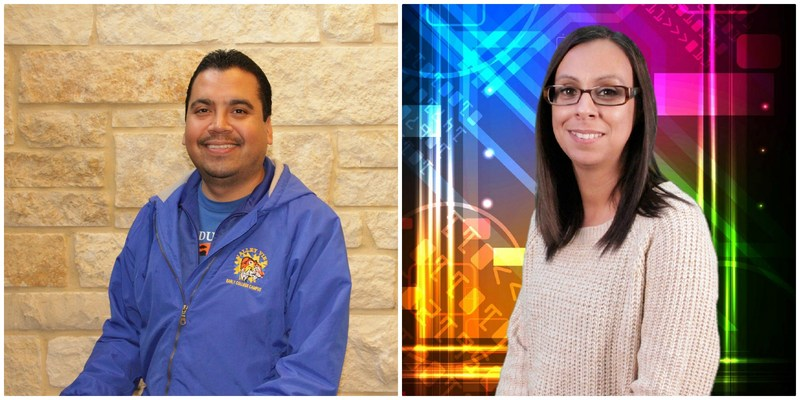 Shining on the Tiger Spotlight this week is Mr. Jose Lara, Truancy Officer and Mrs. Renee Garza, ECC Attendance Clerk. ECC currently has a 98% attendance. Both work hand in hand in calling parents, and scheduling home visits to get students to school Thumbnail Image