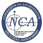 NCA logo as Northville Public Schools is accredited by the NCA