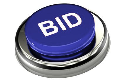 Bid Button SQ