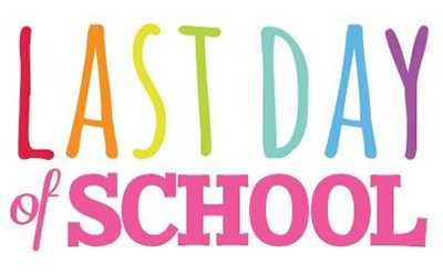 Last Day of School is June 12th. School's out at 11:20 am Thumbnail Image