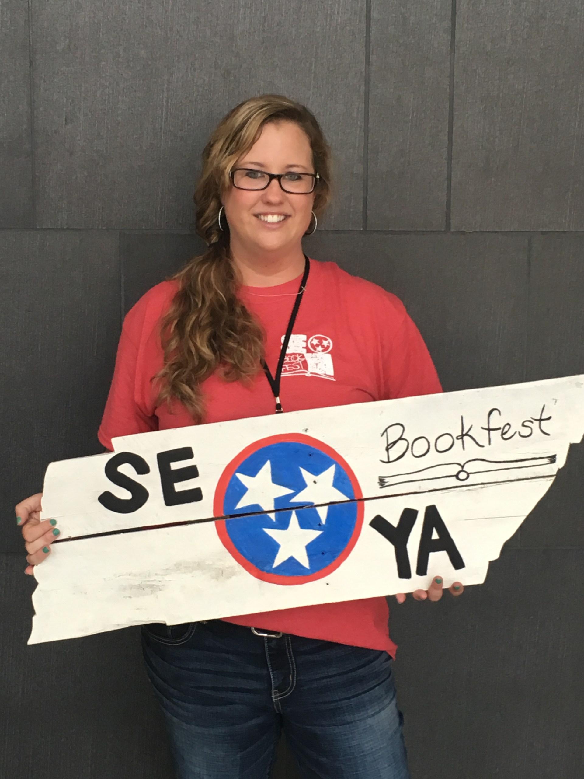 Ms. Rein as a SEYA volunteer 2016