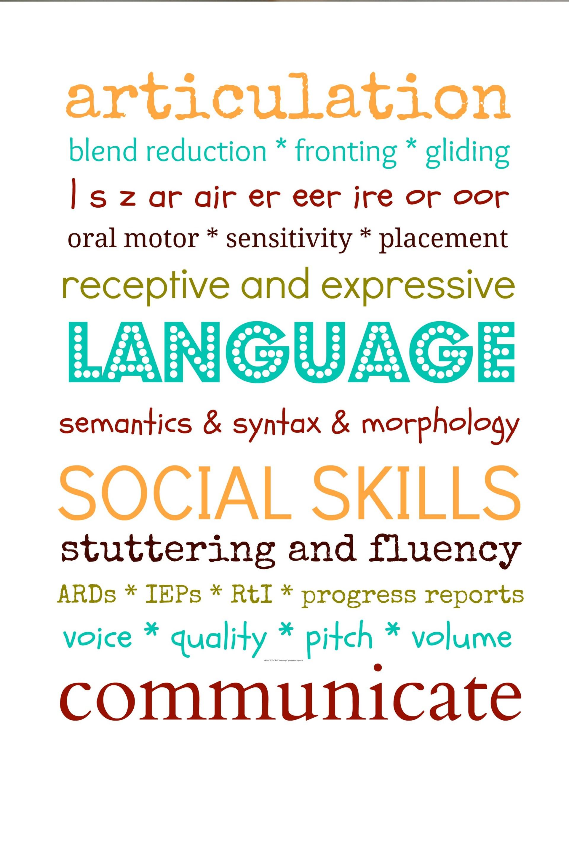 Description of Speech-Language Pathologist Job