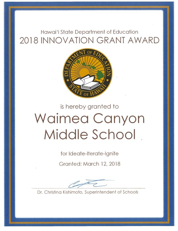WCMS Receives State of Hawaii Innovation Award Thumbnail Image