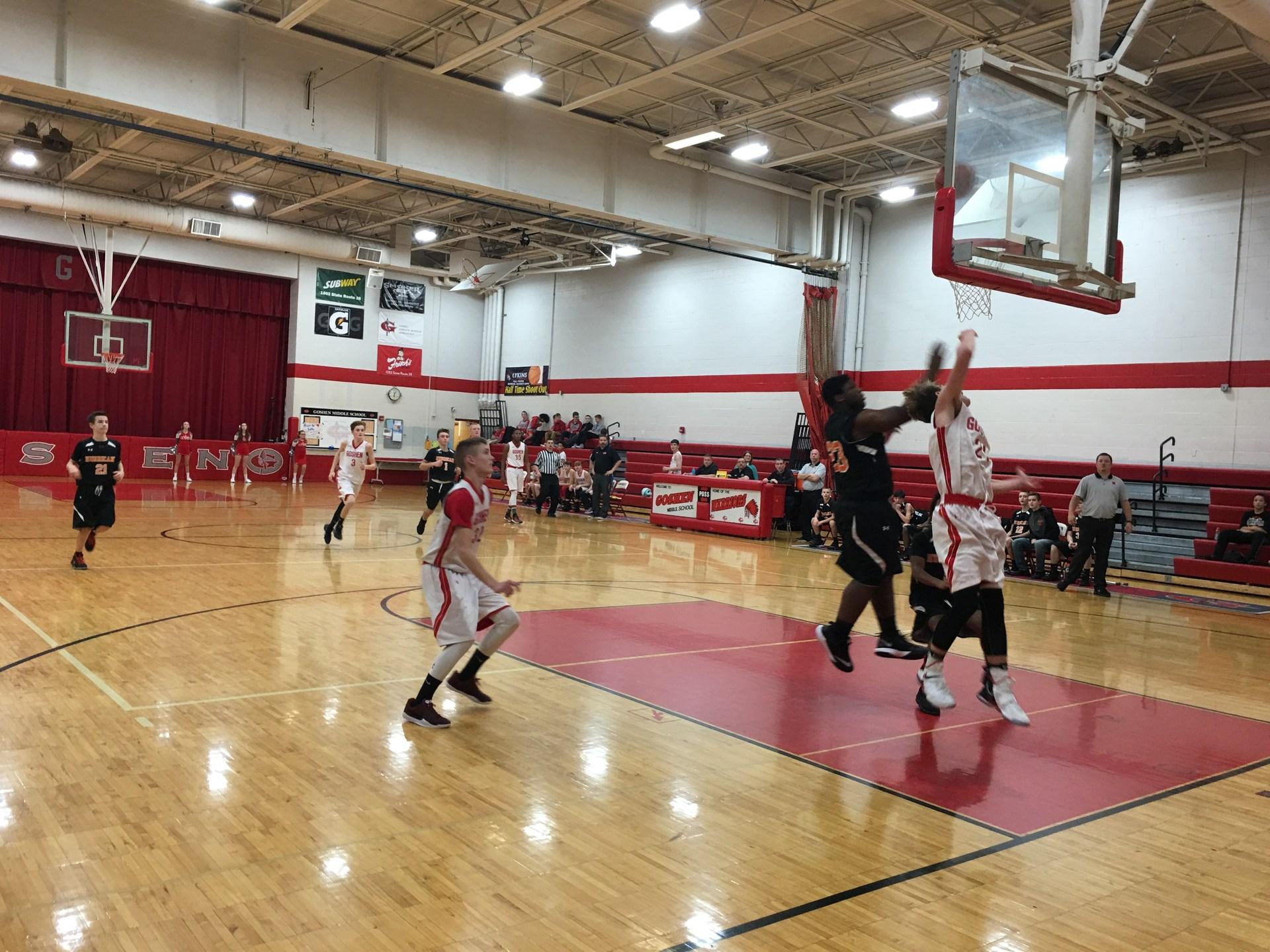 8th Grade Boys Basketball vs Wilmington