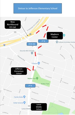 Jefferson Elementary Map