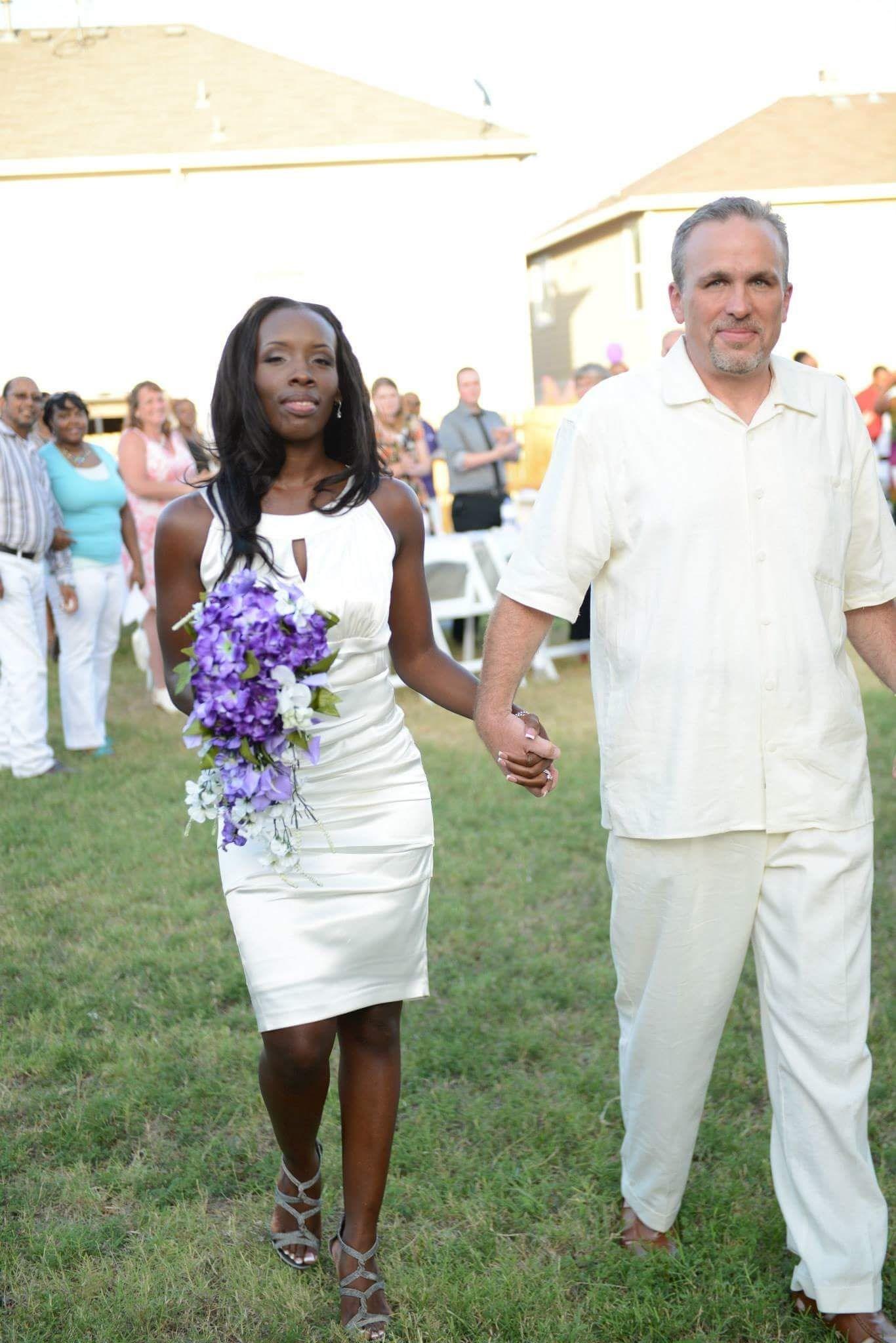 Cassie and Robert at Wedding