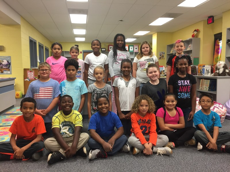 PES October Students of the Month Featured Photo