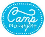 BLUE CIRCLE WITH CAMP MULBERRY