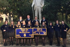 Frenship FFA Leadership Development Teams