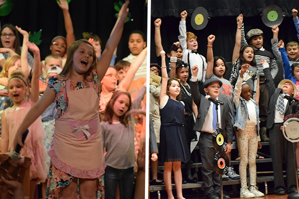 NW, SW K-3 students preform Spring Shows Thumbnail Image