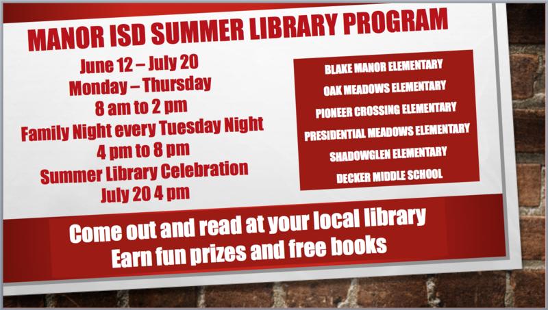 Summer Library Program Thumbnail Image