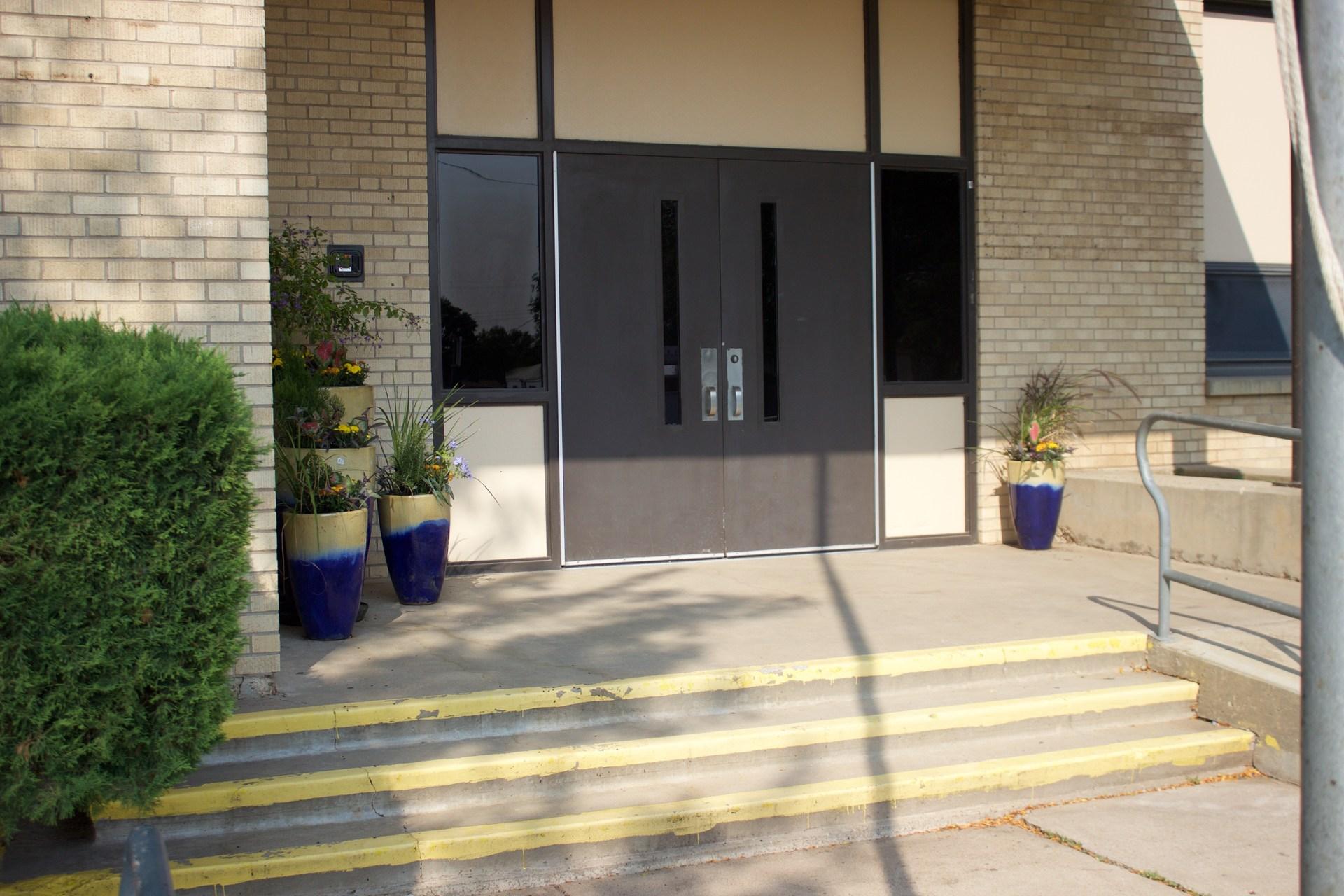 HCAL's front door