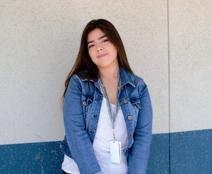 BPUSD_ILC_1: Brianna Rodriguez, a senior at Baldwin Park High School, is in her second and final year of the Independent Learning Center (ILC), a program that provides personalized instruction for students who seek alternative approaches or who face challenges with a traditional school setting. Rodriguez has flourished in ILC with one-on-one instruction, a blended online learning curriculum and flexible hours.