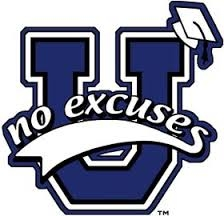 No Excuses University logo