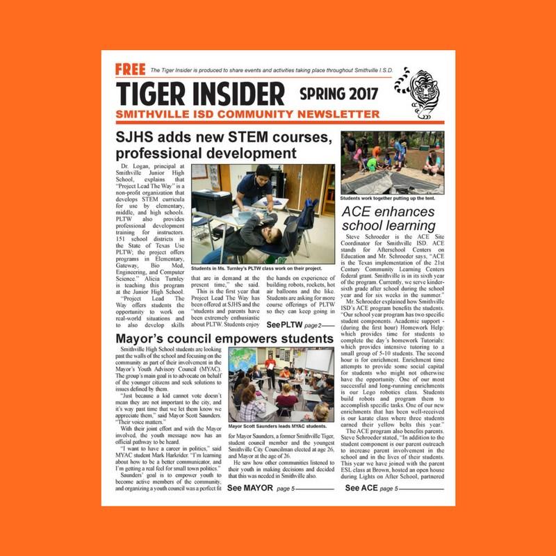 Spring Tiger Insider Newsletter Thumbnail Image