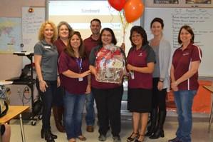 Linda Lucio awarded FMS Teacher of the Year