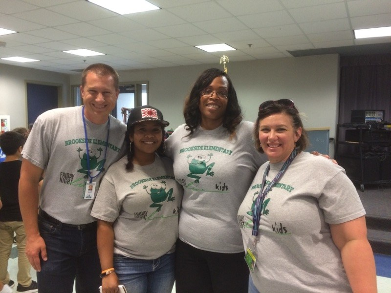 Mr. Holley, Mrs. Chan, Mrs. Keels, Miss Sadler