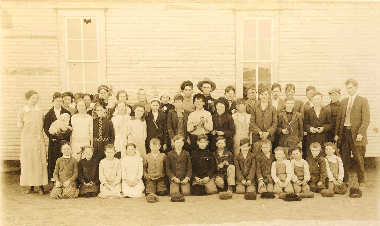 Grape Creek School - circa. 1913