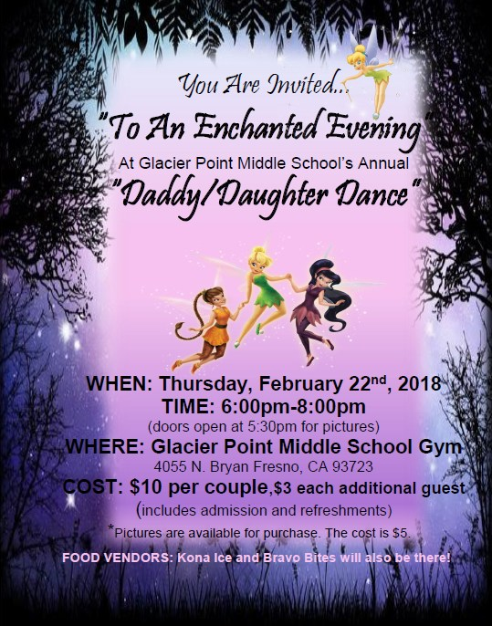 Daddy Daughter Dance Flyer