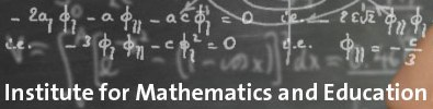 progression documents links to institute for mathematics and education