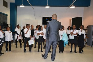 WPACES Choir practices