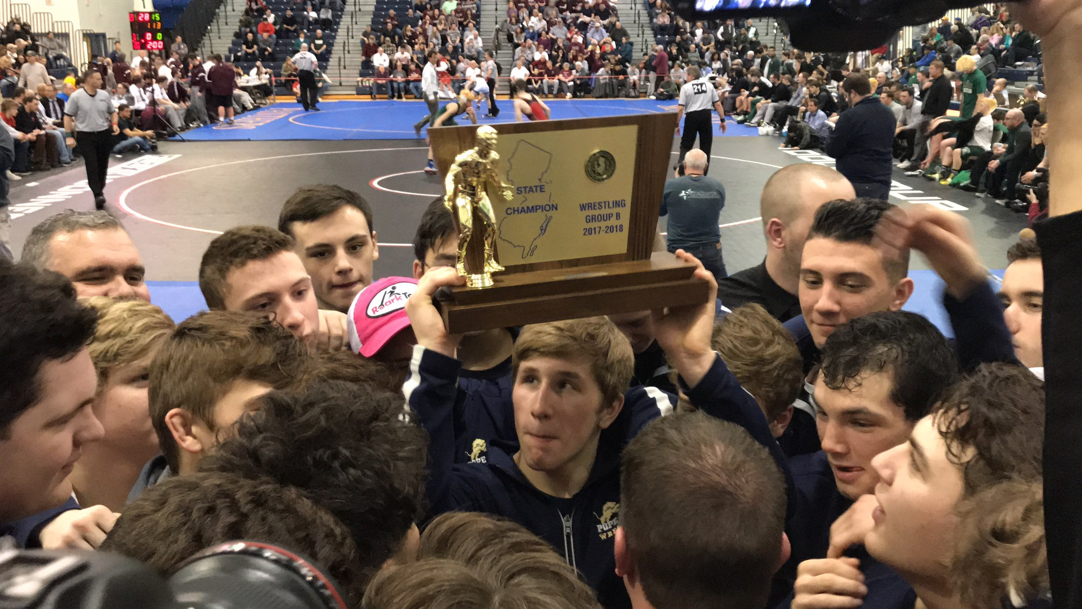PJ Wrestling state champs 2