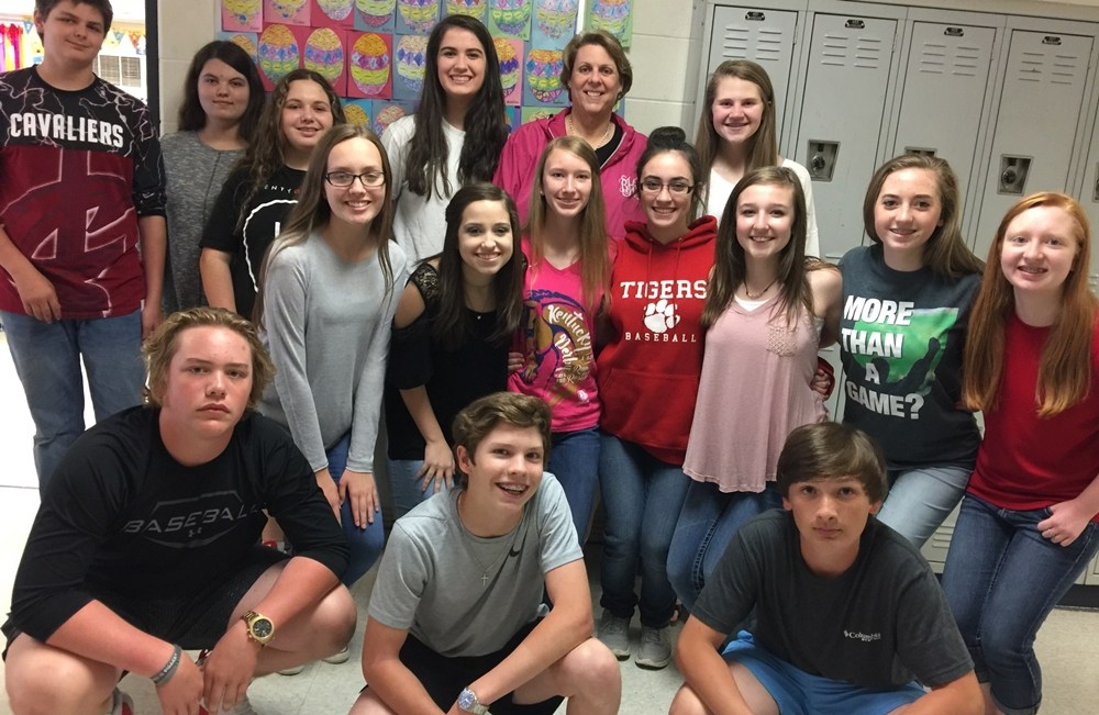 WBMS Yearbook Staff 2016-2017