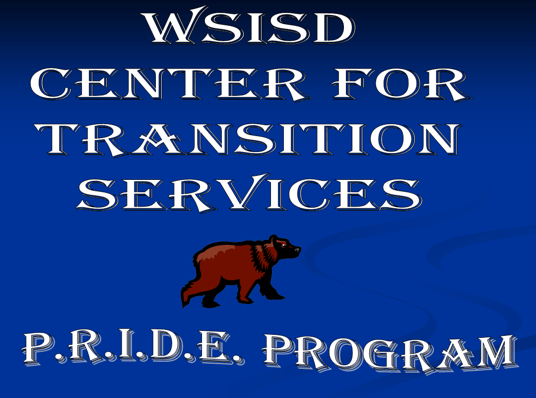 WSISD center for transition services