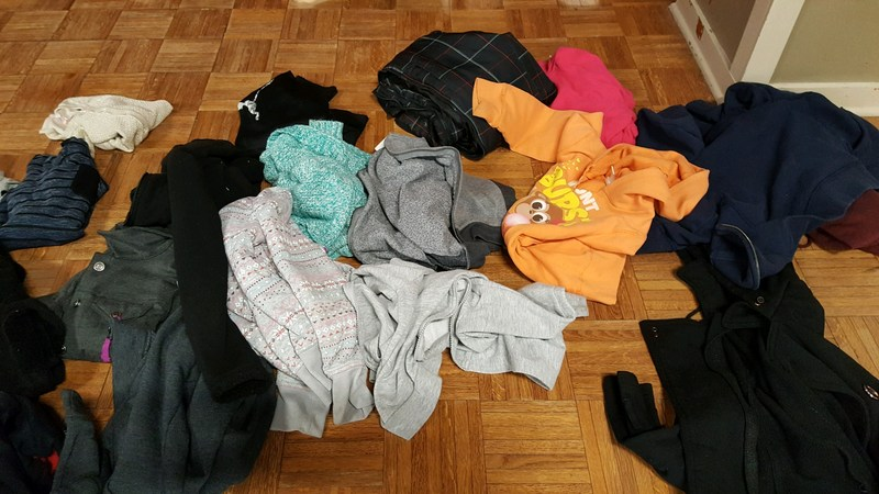 Jackets in lost and found