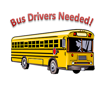 School Bus Drivers wanted Thumbnail Image
