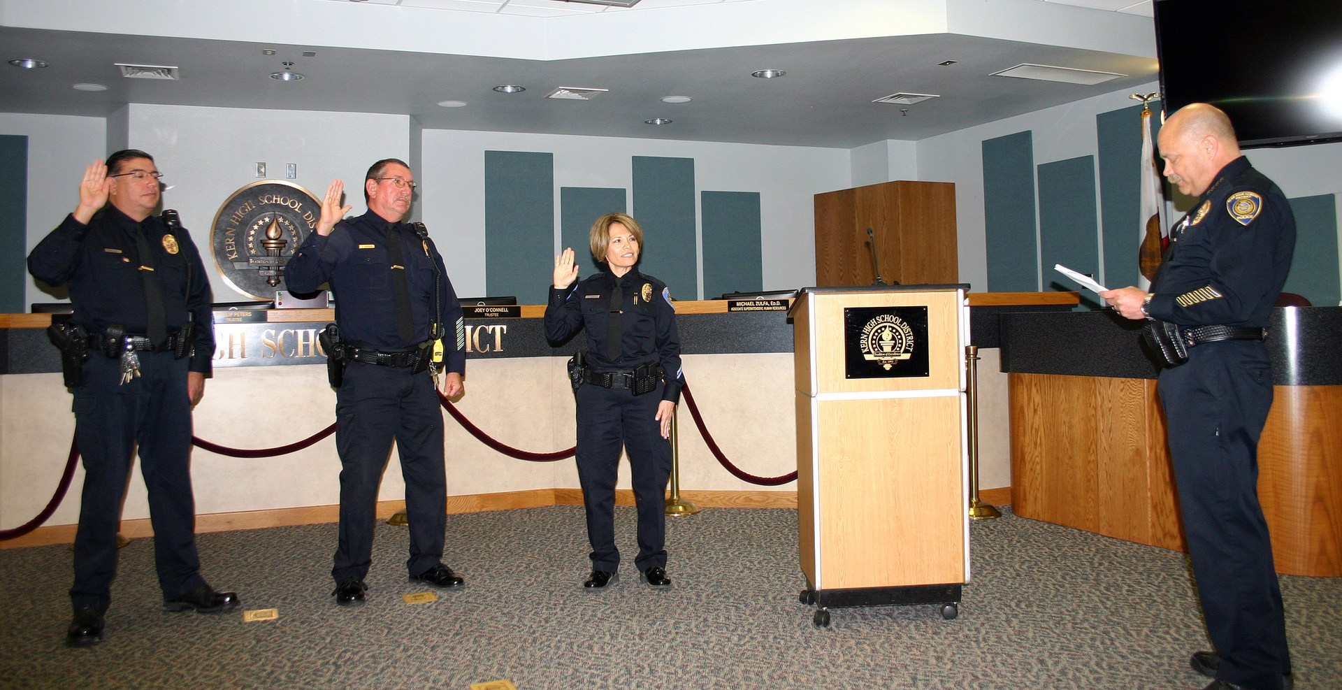 Officer Swearing in Ceremony
