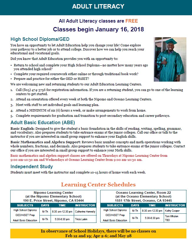 high school diploma ged adult education classes adult education  hsd info