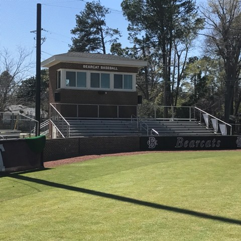 Brookland-Cayce High School New Baseball Press Box...Front View
