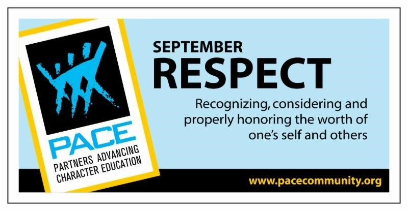 PACE Character Trait for September - Respect Thumbnail Image