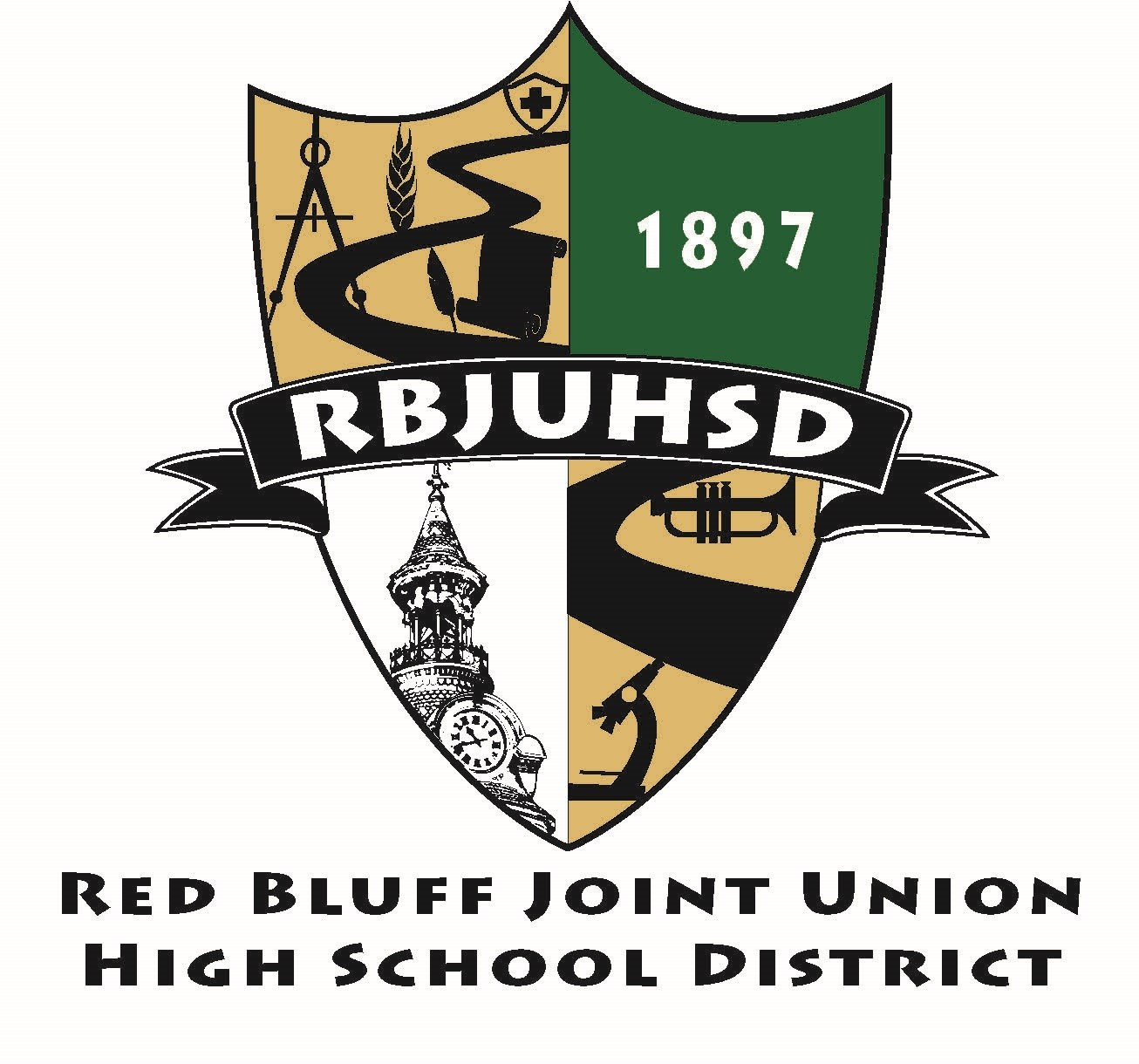 RBJUHSD Shield Logo
