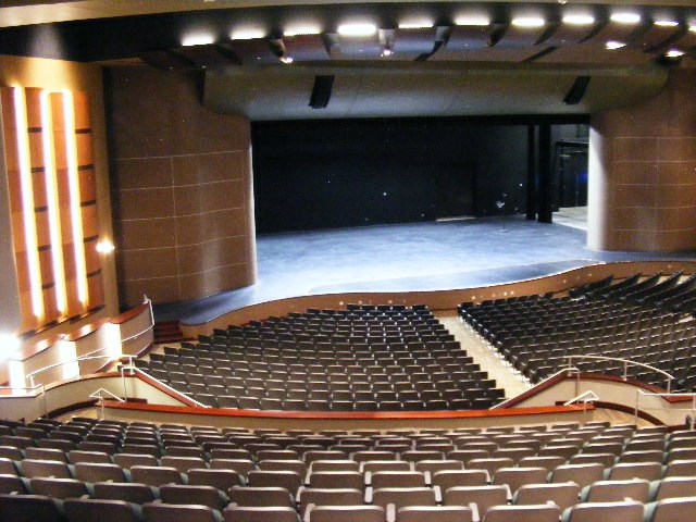seating in the fine arts center