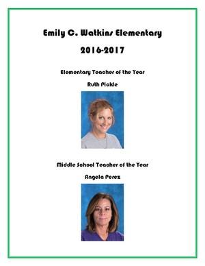 Teachers of the Year