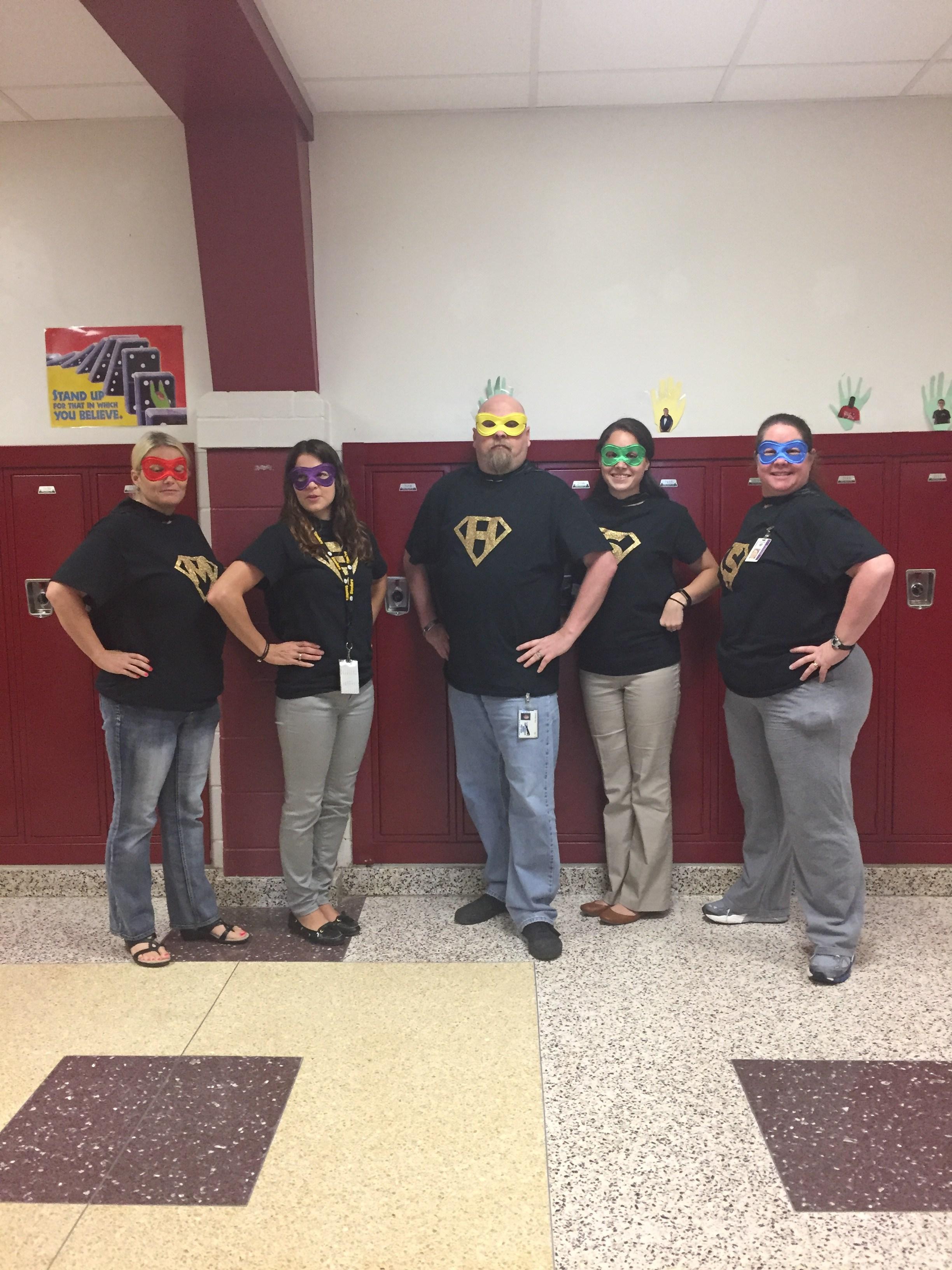 We ARE superheros!