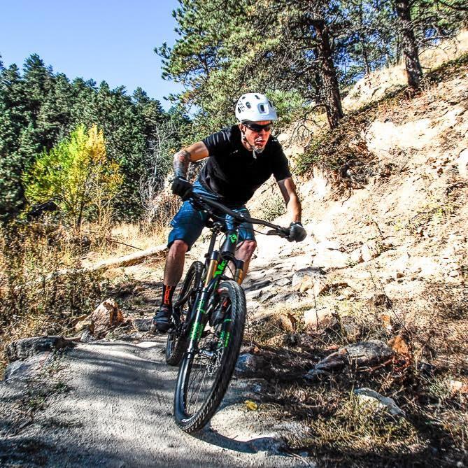 Mountain Biking at Betasso Preserve—Boulder, CO