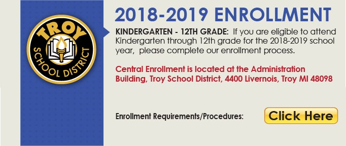 2018-2019 1st - 12th Student Enrollment link