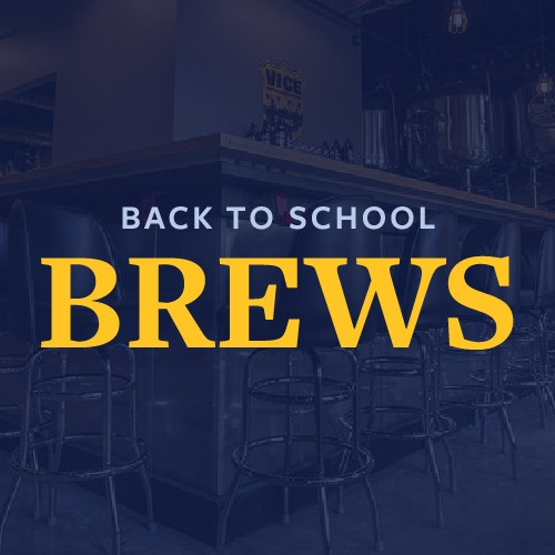 Back to School Brews Featured Photo