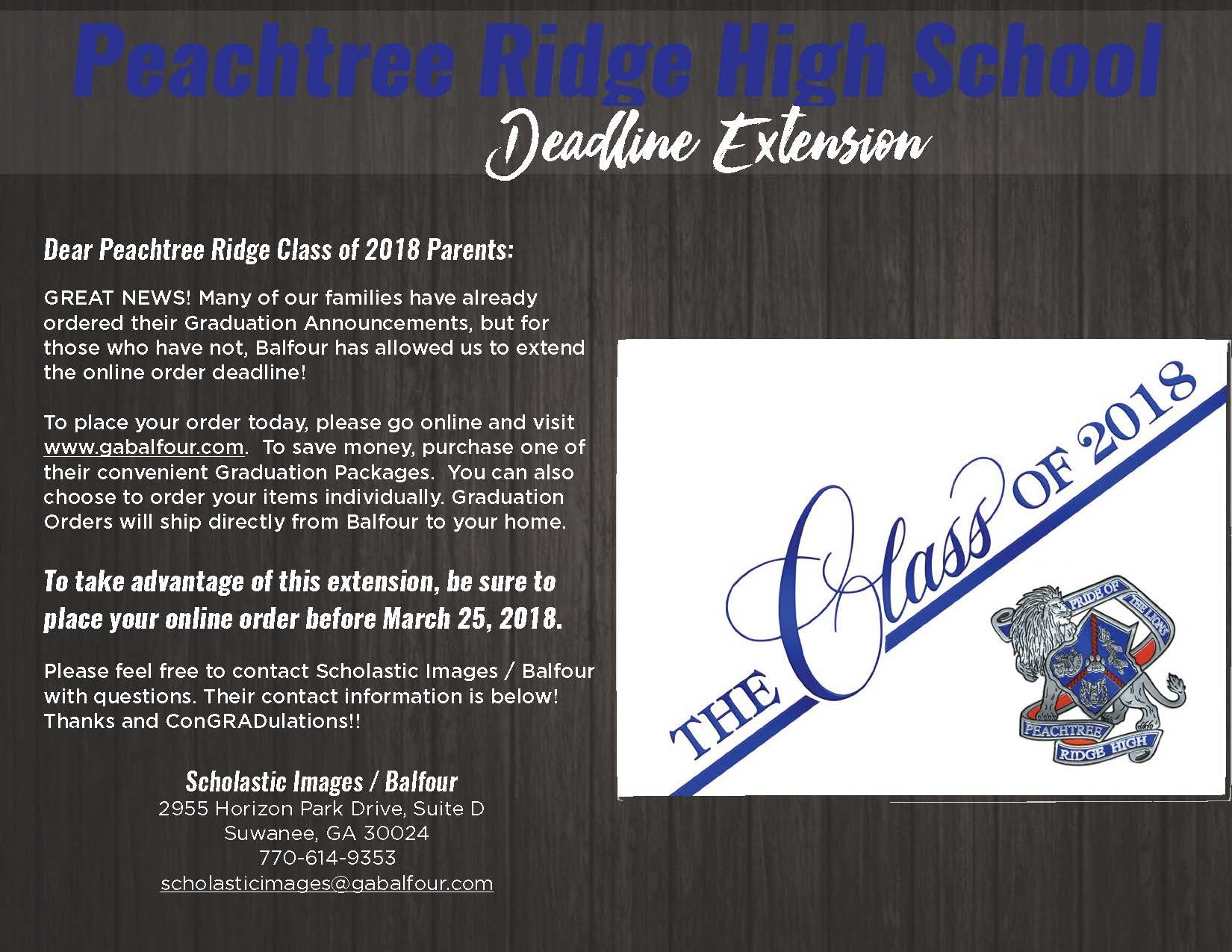 Great Balfour Cap And Gown Order Form Ideas - Wedding and flowers ...
